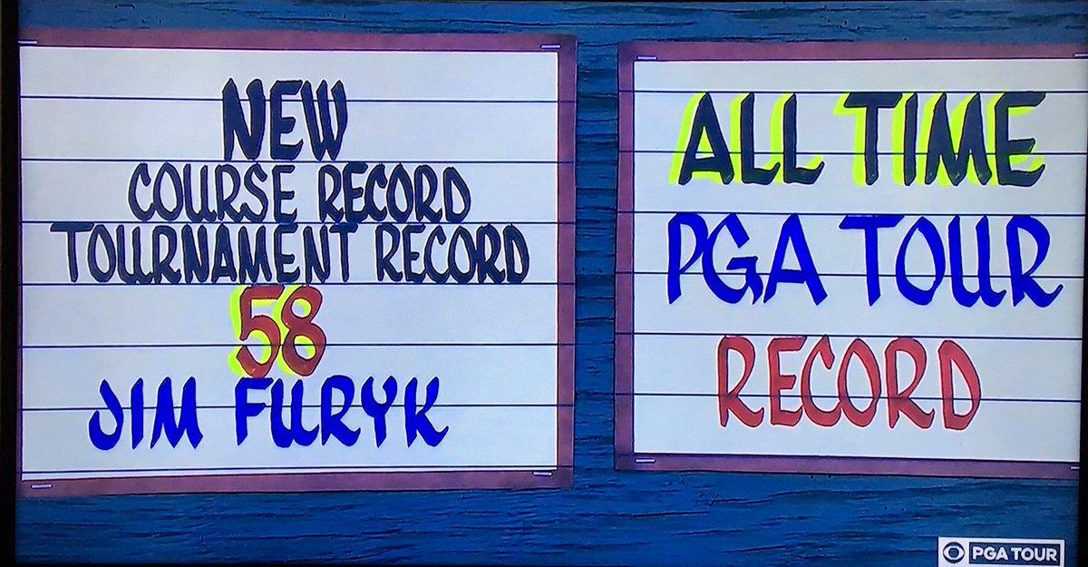 Furyk Record